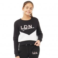 Closure London Junior Cut And Sew Black
