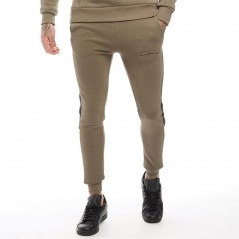 Closure London Contrast Side Panelled Khaki/White/Black