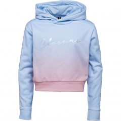 Closure London Junior Hoodie Blue/Pink