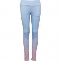 Closure London Junior Leggings Blue/Pink
