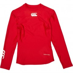Canterbury Junior ThermoReg Baselayer Flag Red