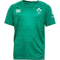 Canterbury Junior Ireland Rugby VapoDri+ Superlight T-Bosphorus
