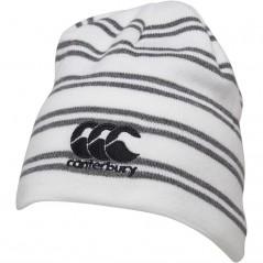Canterbury England Rugby Beanie Bright White Marl