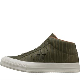 Converse One Star Counter Climate Mid Olive