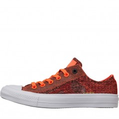 Converse Chuck Taylor All Star II Ox Hyper Orange/Almost Black