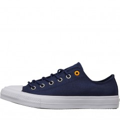 Converse Chuck Taylor All Star II Ox Navy/Laser Orange