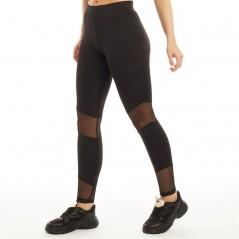 DFND London Melanie Mesh Leggings Black