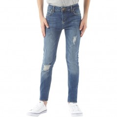 DFND London Worker Skinny Blue
