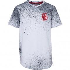DFND London Splatter T-White