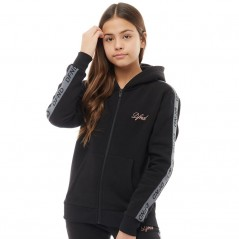 DFND London Junior Pence Hoodie Black