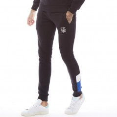 DFND London Tricolour Black/White/Cobalt