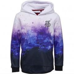 DFND London Clouds Hoodie White/Purple