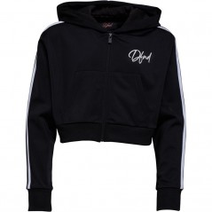 DFND London Junior Castlefield Cropped Hoodie Black