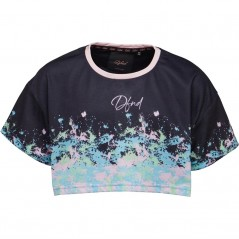 DFND London Junior Art Cropped Black/Pink/Green