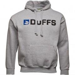 DuFFS Horizontal Hoodie Grey Marl