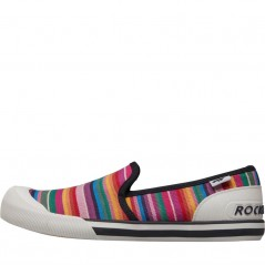Rocket Dog Jazzin Slip Eden StRed Multi