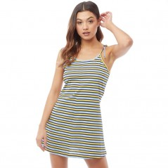Fluid Striped Blue/Mustard/Black