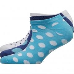 Fruitcake Spots Trainer Liner Navy Spot/Blue Spot/White Dobby Spot