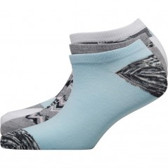 Fruitcake Abstract Trainer Liner Print/Blue Block/Grey Print