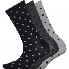 Fruitcake Dobby Spot Black Spot/Grey Spot/Light Grey Spot