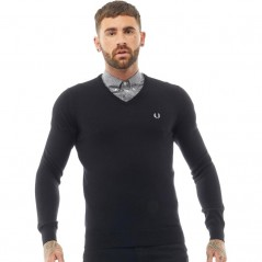 Fred Perry Classic V-Black