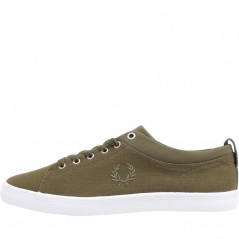 Fred Perry Hallam Shower Resistant Dark Olive