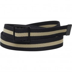 Fred Perry Striped Webbing Black/Champagne