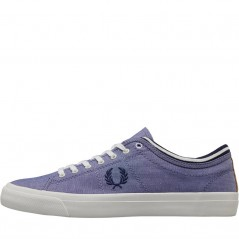 Fred Perry Kendrick Shirting Rich Blue