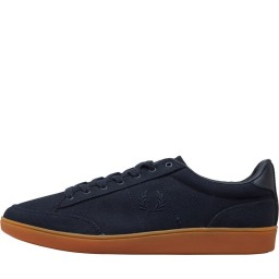 Fred Perry Hopman Twill Leather Navy