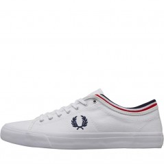 Fred Perry Kendrick White