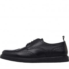 Fred Perry Portwood Leather Black