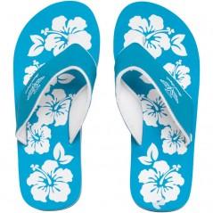 Board Angels EVA Toe Post Turquoise/White