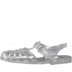 Board Angels Junior Fisherman Jelly Clear/Silver Glitter