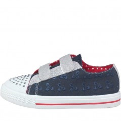 Board Angels Broderie Anglaise Navy/Red