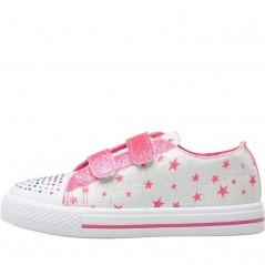 Board Angels Velcro Star Ecru/Pink