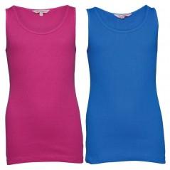 Board Angels Rib Vests Pink/Blue