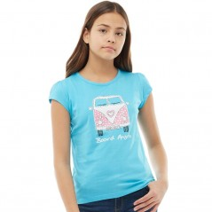 Board Angels Front/Back Camper T-Turquoise