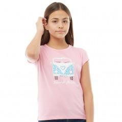 Board Angels Front/Back Camper T-Pink