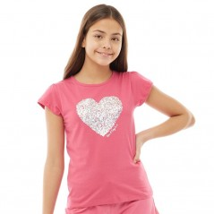 Board Angels Heart T-Pink