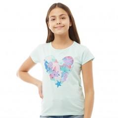 Board Angels Heart T-Aqua