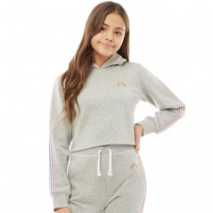 Board Angels Cropped Tape Detail Grey Marl