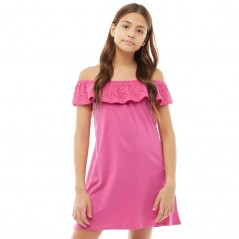 Board Angels Broderie Anglaise Pink