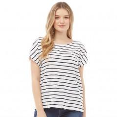 Board Angels Yarn Dyed Striped Jersey White/Black