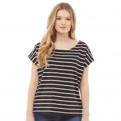 Board Angels Yarn Dyed Striped Jersey Black/White