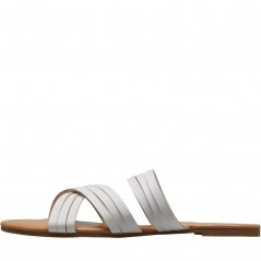 Board Angels Strappy Mule White