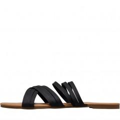 Board Angels Strappy Mule Black