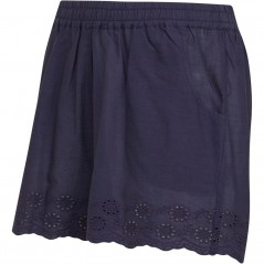 Board Angels Broderie Anglaise Hem Navy