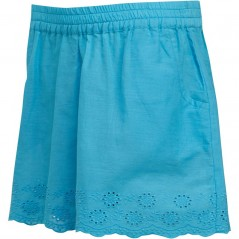 Board Angels Broderie Anglaise Hem Blue