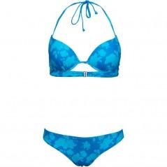 Board Angels Printed Bikini Blue