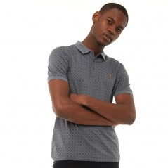 Farah Vintage Blacker Jacquard Polo Shadow